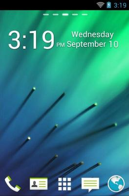 android theme 'HTC One M8'