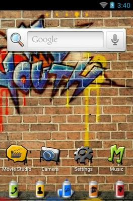 My Youth android theme home screen