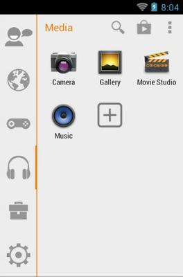 Miui android theme application menu
