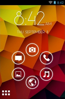 android theme 'Dzire Lite Ios 7'