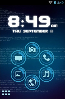 android theme 'Jarvis'