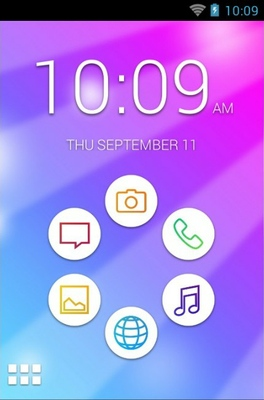 android theme 'Colorful'
