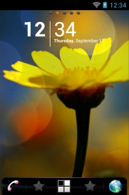 android theme 'Wildflower'