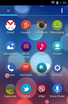 Roundy android theme
