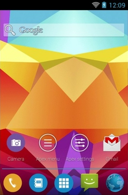 S5 android theme home screen