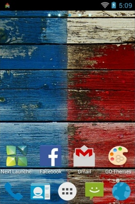 Motorola Moto X android theme home screen