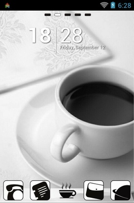 android theme 'Coffee'