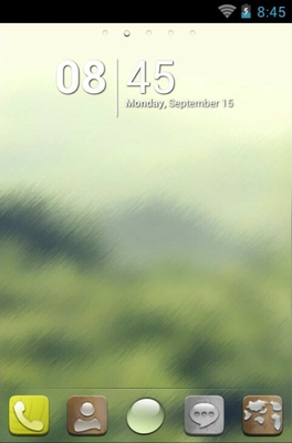 H-Droplet android theme