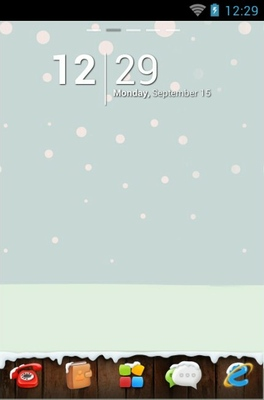 android theme 'Winter'