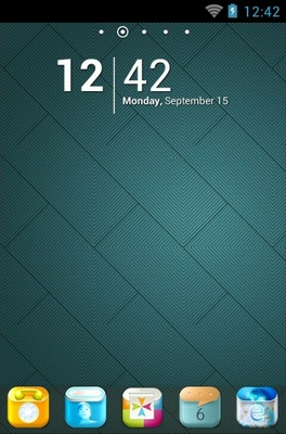 android theme 'Wallcool'
