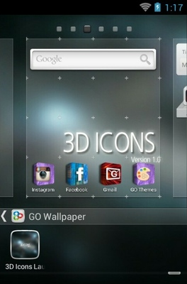3D Icons android theme wallpaper