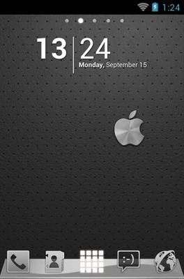 android theme 'iPhone Graphite'