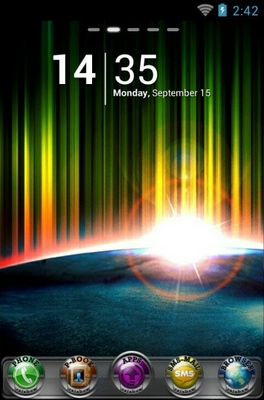 android theme 'Rainbow'