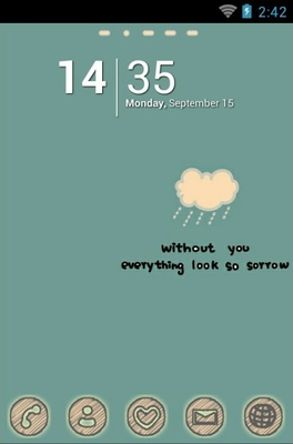 android theme 'Cry Cloud'