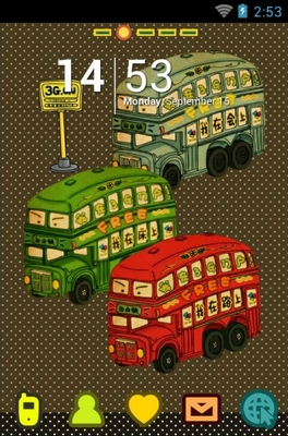 android theme 'Bus'