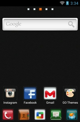 C Box android theme home screen