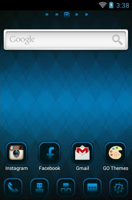 Lattice android theme home screen