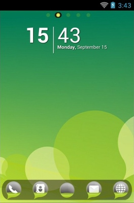 Bubble android theme