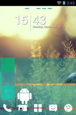android theme 'WP7blue'