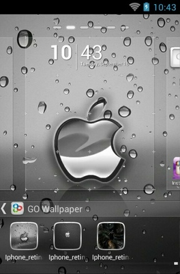 iPhone 4s android theme wallpaper