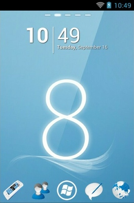 android theme 'Windows 8'