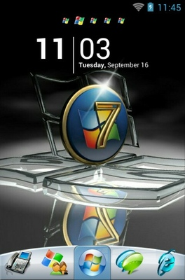 Windows 7 android theme