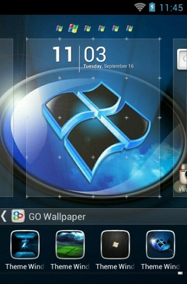 Windows 7 android theme wallpaper