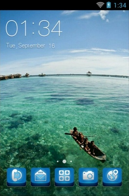android theme 'Mabul Island'