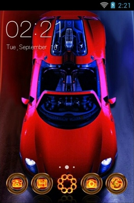 android theme 'Porsche'