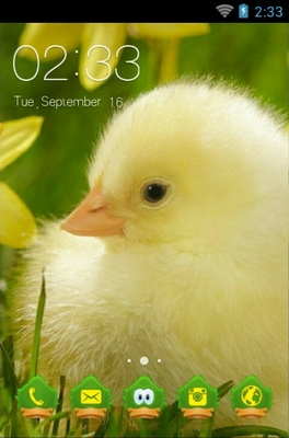 android theme 'Cute Little Duck'