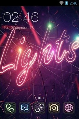android theme 'Lights'