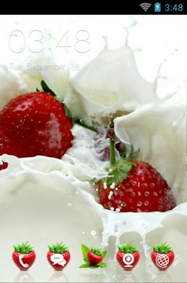android theme 'Strawberry'