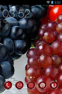 android theme 'Sweet Grapes'