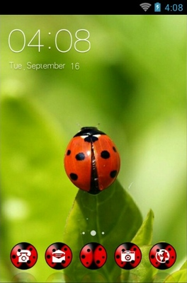 android theme 'Red Bugs'