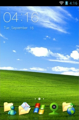 android theme 'Windows XP'