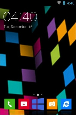 android theme 'Nokia Lumia'