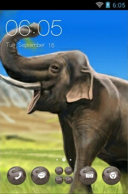 android theme 'Elephant'