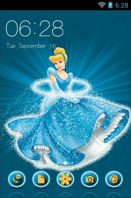 android theme 'Cinderella'