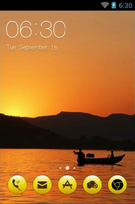 android theme 'Sunrise'