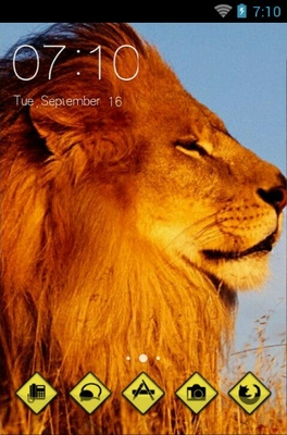 android theme 'Lion'