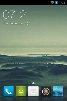 android theme 'Simple Mount'