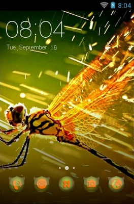 android theme 'Dragonfly'