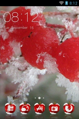 android theme 'Red Cherry'