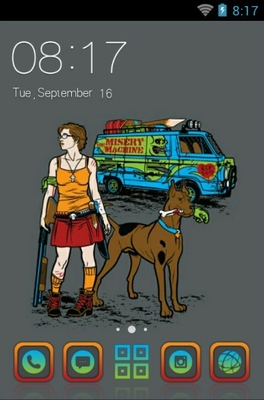 android theme 'Scooby Doo'