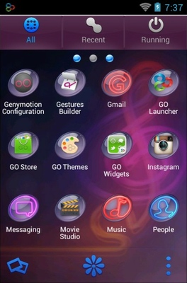 Colorlight android theme application menu