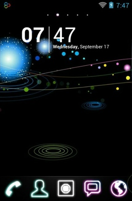 android theme 'Galaxys'