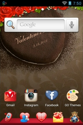 android theme 'Romantic'