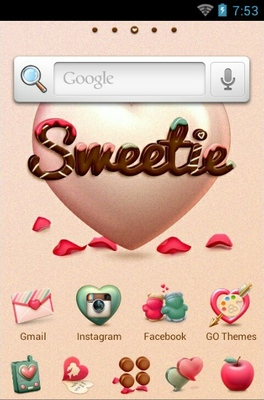 android theme 'Sweetie'