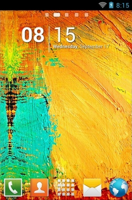 android theme 'Galaxy Note 3'