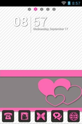 android theme 'Pink Matte'